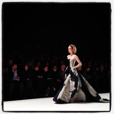 cfda:  Carolina Herrera FW 12 (Taken with instagram)