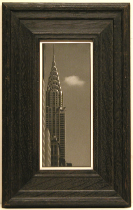 Jefferson Hayman Chrysler Building with Cloud toned gelatin silver print edition of 25