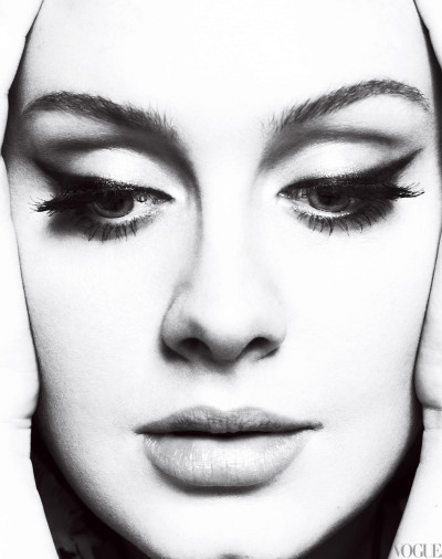 "imwithkanye:  Adele: One and Only | Vogue  ""Adele is not rock-'n'-roll. She is not self-consciously retro. She does not shimmy or shake. Hers is a plant-the-feet-and-belt delivery that has all but disappeared from the pop landscape. It should be deeply uncool. And yet, there is something startlingly refreshing about her youthful elegance and commanding presence—especially because she is a 23-year-old Cockney girl from Tottenham."""