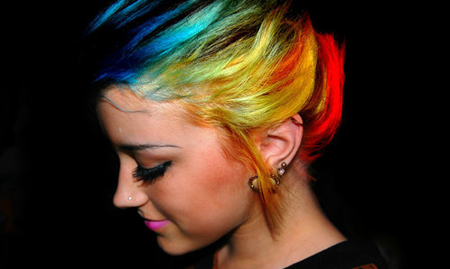 My hair I'm getting. X
