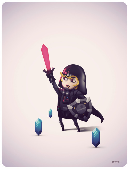Darth Link - by Nook