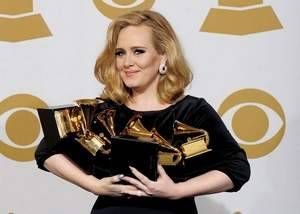 Grammy highlights: (via Adele dominates Grammys, while death of Whitney Houston adds somber note | The Journal News | LoHud.com | LoHud.com)  What was your favorite performance?