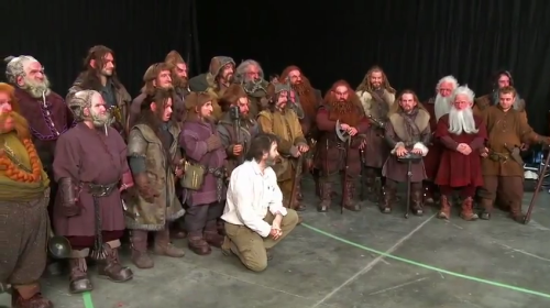 The Hobbit Production Diary #3