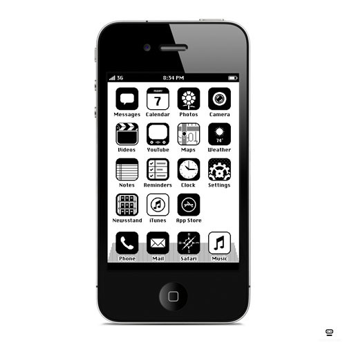 laughingsquid:  iOS '86  this was my idea has been for like a year :P