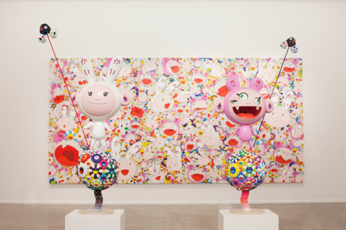I'd love to see live this exhibition: takashi murakami: ego at al-riwaq exhibition hall, doha, qatar