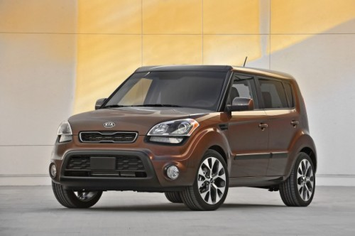 #Kia announces 2012 Soul Red Rock special edition; inspired by red rocks, it's painted brown