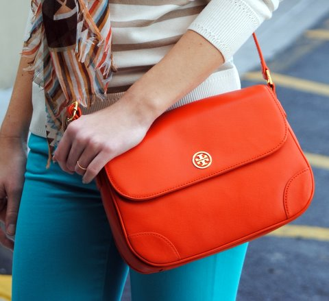 This new Equestrian Orange @toryburch bag is pretty fab, too.