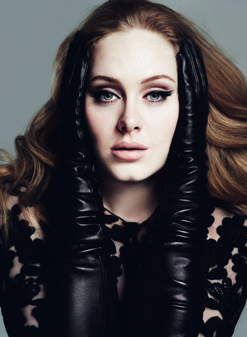 vogue:  Adele Photographed by Mert Alas and Marcus Piggott for the March Issue of Vogue