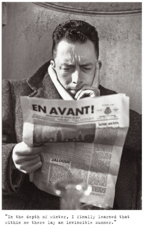 Writer's Wednesday: Albert Camus