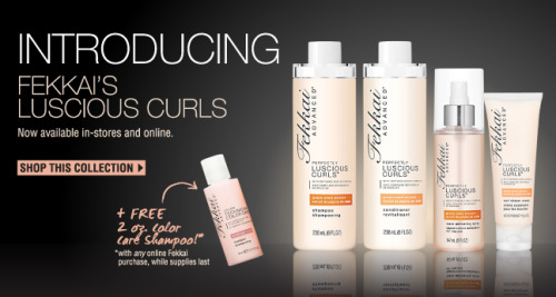 Score a free travel-size Fekkai Color Care Shampoo with ANY Fekkai purchase at RickysNYC.com this week!* Click here to shop Fekkai hair products now. *=While Supplies Last.