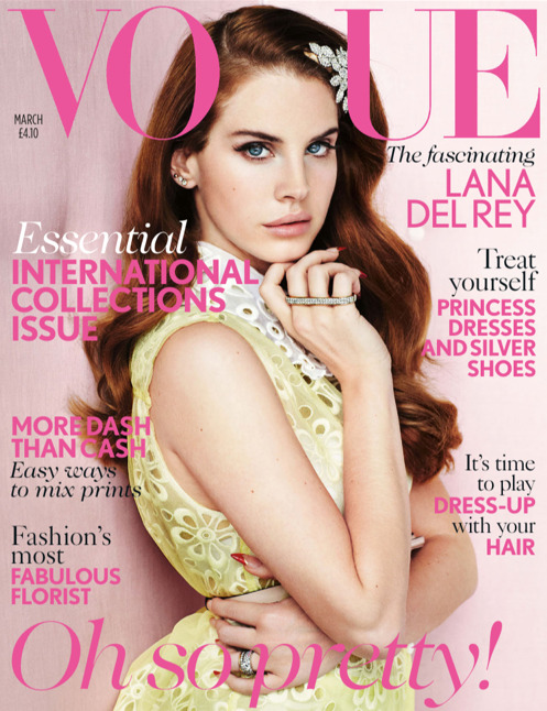 Lana Del Rey in Vogue.