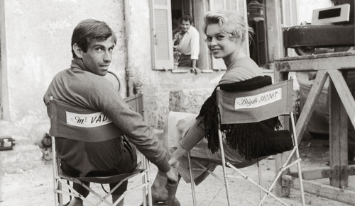 toryburch:  R is for Romance Roger Vadim and Brigitte Bardot  — oh, l'amour!