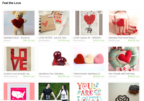 Lovely Etsy treasury I put together, featuring some of the gorgeous items I featured on the blog. Click through to check it out.