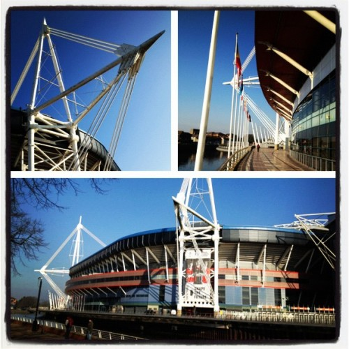 Millennium Stadium, Cardiff  (Taken with instagram)