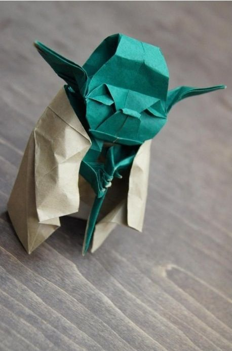 chaystar:  Origami Level: Yoda