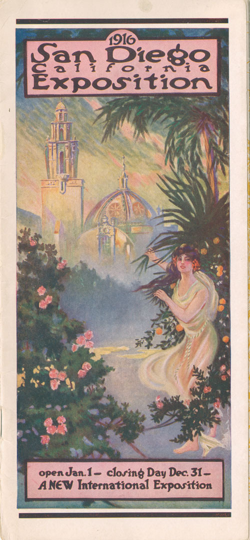Panama California International Exposition, 1916