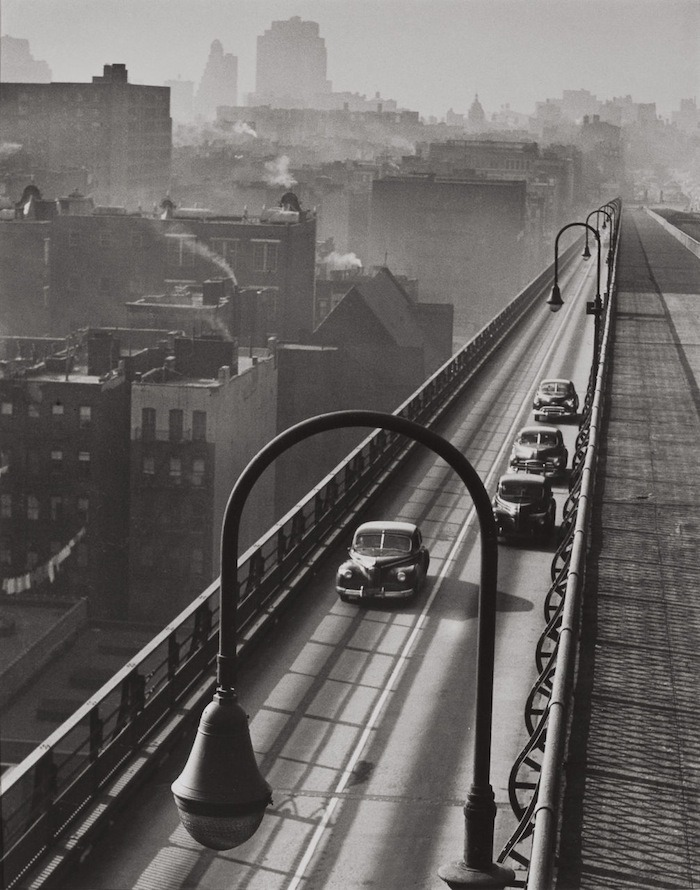 luzfosca:  Harold Roth Williamsburg Bridge, 1947