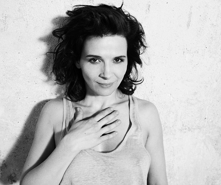 Juliette Binoche by Christian Kettiger.