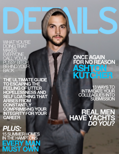 slacktory:  What Men's Interest Magazines Are Really About | Modern Primate Slacktory has a brother blog! We are being semi-secret about it, but they just published three brilliant photoshops of men's magazines so we wanted to show you.