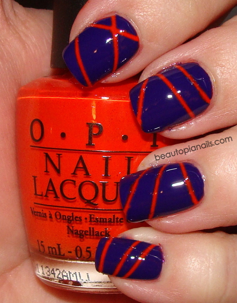 lasers - OPI Roll in the Hague and Nails Inc Belgrave place