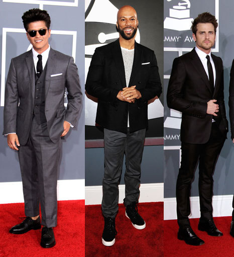 via gqfashion:  The Best-Dressed Men at the Grammys These are the men who dominated the Grammys in the only way Adele couldn't. Get the full list of the best-dressed guys on music's biggest night here.