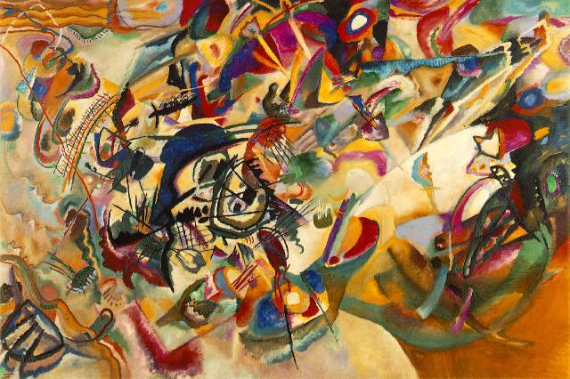 """Composition VII"" by Kandinsky, 1913"