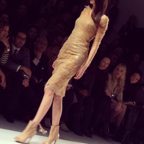 Carlos Miele signature: the fuxico dress  (Taken with instagram)