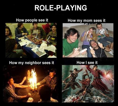 fuckyeahdnd:  :) Don't have a source, but I think a ton of D&D players can relate.