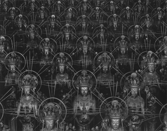 "manpodcast:  Hiroshi Sugimoto, Sea of Buddha, 1995. This week's Modern Art Notes Podcast features Pulitzer Foundation for the Arts curator Francesca Herndon-Consagra, who joins me to discuss ""Reflections of the Buddha,"" on view at the Pulitzer through March 10. Among the topics we discuss is how Buddhism informed the work of Pulitzer architect Tadao Ando, a non-Buddhist. The museum recently published its online catalogue for the show. No one does this exhibition-specific micro-sites better than the Pulitzer: The pictures are fantastic and plentiful and there's plenty of smart information available. The first guest on the program is trickster-cum-artist Tom Friedman, whose first New York show in six years opens this weekend at Chelsea's Luhring Augustine gallery. Friedman is also included in ""Lifelike,"" a major exhibition opening this month at the Walker Art Center. The show will travel to the New Orleans Museum of Art, MCASD and to the Blanton. To download or subscribe to The Modern Art Notes Podcast via iTunes, click here. To download the program directly, click here. To subscribe to The MAN Podcast's RSS feed, click here. For more images of the works discussed on this week's program, click here."