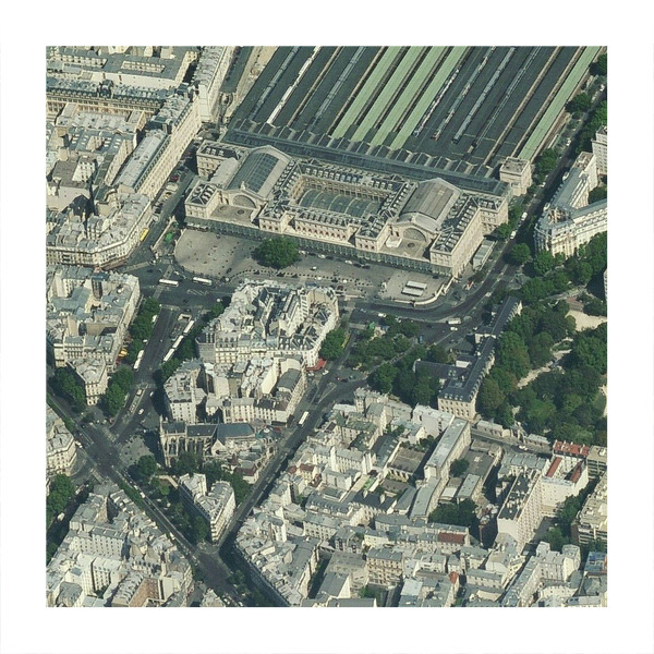Bird View Cityscape [302] Paris | France | Gare bing maps