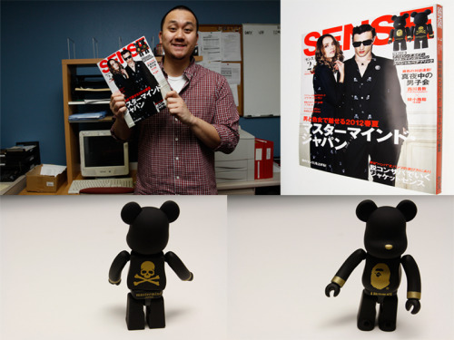 NEW ITEMS IN STOCK! Sense magazine with a Bape x Mastermind x Bear Brick vinyl.Make sure to get them while supplies last!Buy now