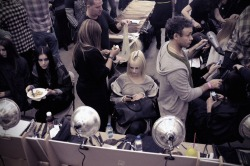 BULLETT goes backstage at Prabal Gurung