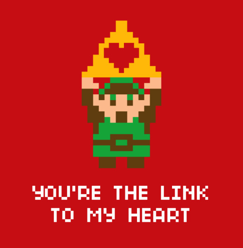zombiebacons:  You're the Link to My Heart. Downloadable, fold-able, .pdf for your Heartforce.
