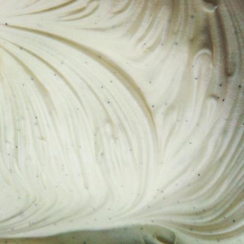 Whipping up some delicious, creamy vanilla bean frosting for Valentine's cake truffles! A delicious lemon cake is in the oven too. Yum! We'll be sharing our new flavor offerings very soon.