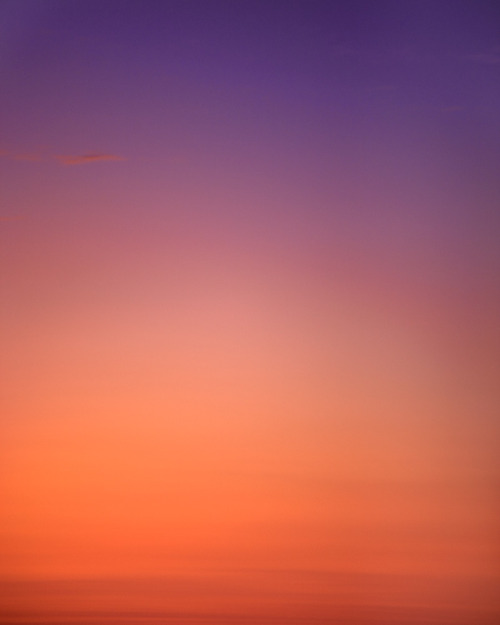 """Port Dume, Malibu, CA: Sunrise 5:56am"" by Eric Cahan, as part of the ""Sky Series"""