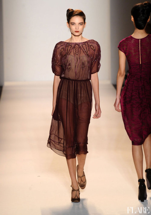 flarefashion:     Lela Rose - Fall 2012 / Photo Courtesy of Image.net   Click here for the latest from New York Fashion Week Fall 2012