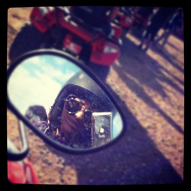 Me Quad Biking Today! (Taken with instagram)