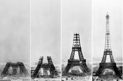 jaymug:  Building The Eiffel Tower