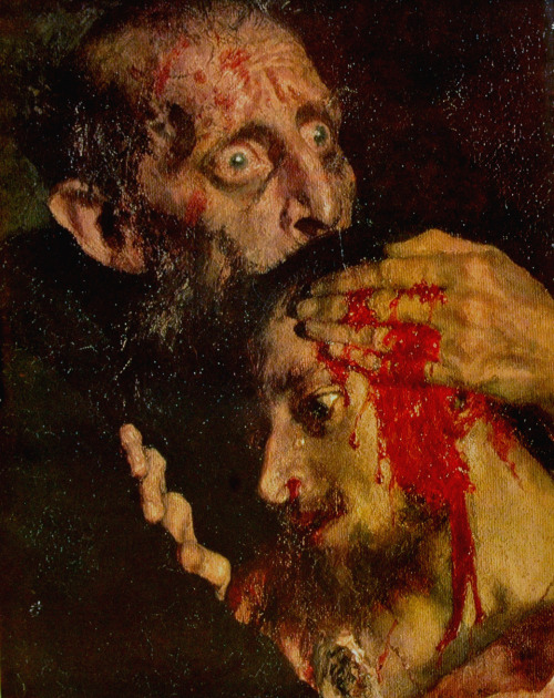 Detail of Repin's  Ivan the Terrible