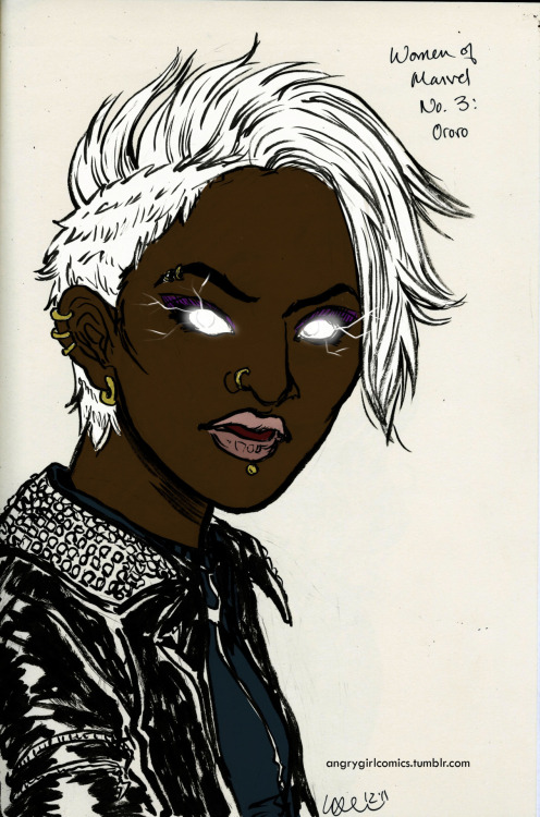angrygirlcomics:  Ororo is awesome.