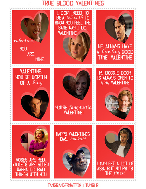skarsgardnews:  True Blood valentines! Nifty idea. ;)