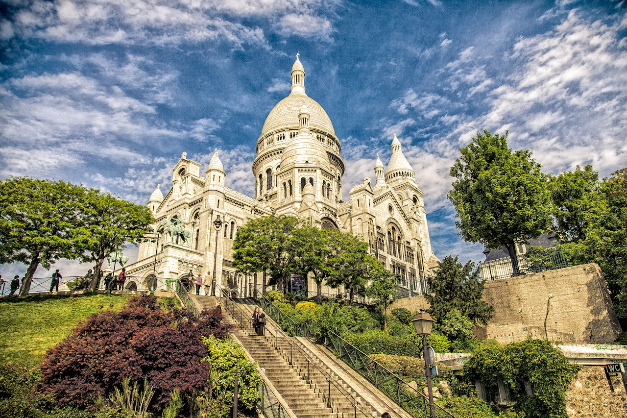 Sacre Coeur on Flickr. A friend of mine just got back from Paris, so I dug out this old photo of the Sacre Coeur Basilica from my last trip to Paris.