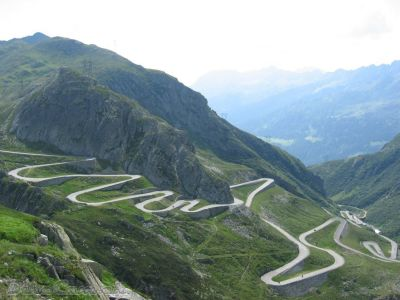Stelvio Pass, Italy. It suddenly makes so much sense why so many amazing auto's and moto's are made there- Ducati, MV Agusta, Aprilia, MotoGuzzi, Bimota… Maserati, Ferrari, Lamborghini, Alfa Romeo, etcetc.