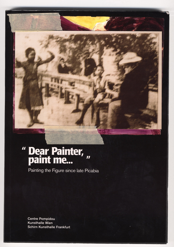 "Tim Braden ""Dear Painter…"" / ""Cher Peintre…""/ Lieber Maler…"" 2006 Colour  photograph of Auguste Rodin painting Cambodian dancers, book, tape, in  custom frame, One from a series of three (35 x 30 cm)"