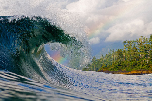 surftourist:  Photo by Tim Nunn. Rainbow pitch in Canada.