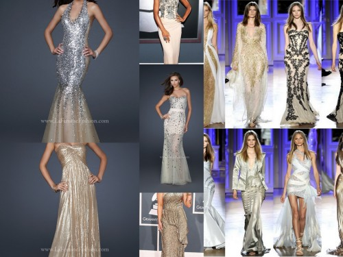 Golden Grammy's, Golden Globes, Golden Gowns from LA FEMME!