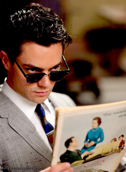 Dominic Cooper movie still from My Week with Marilyn