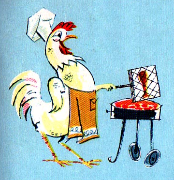 rogerwilkerson:  Cheerful Cannibalistic Chicken