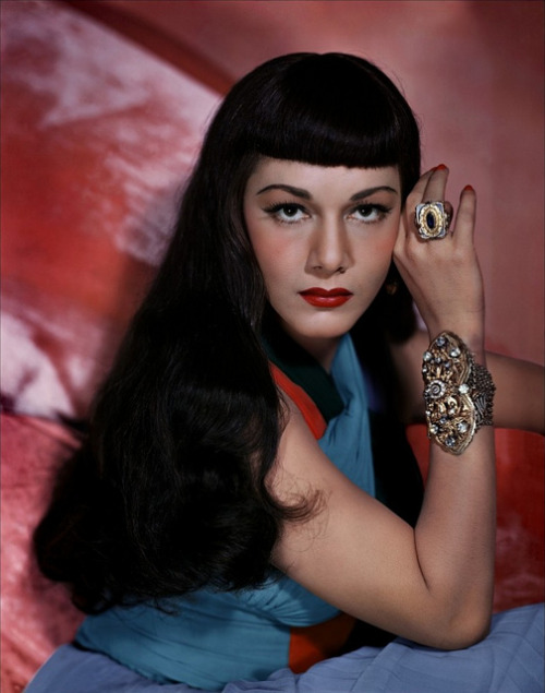 ilikeoldthings:  Maria Montez, 1949