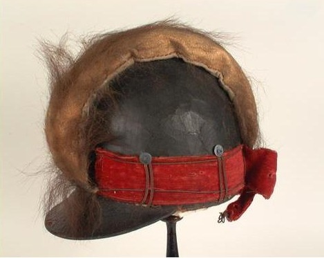 Dragoon Helmet, 1790s-1820s via the New York Historical Society.  Please click the link for some contradictory dating of this helmet!   Does anyone else have weakness for dragoon helmets? Where is my Banastre Tarleton gif when I need one?